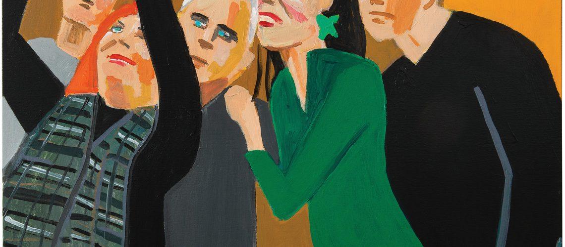 עודד זידל, דימוי מהתערוכה ציורים 2018-19, אוצרת: אורנה נוי לניר, גלריה אגריפס